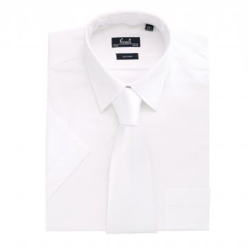 Men's White Short Sleeve shirt